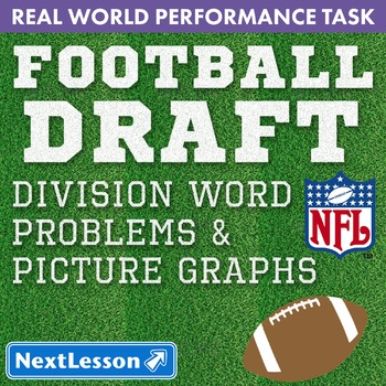 Performance Task - Division, Word Problems, & Picture Graphs - Football Draft