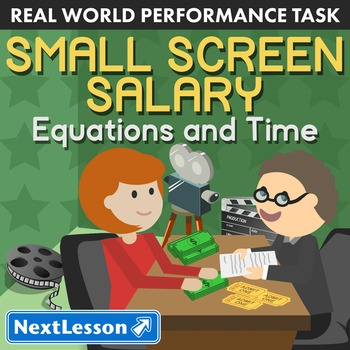 Performance Task – Equivalent Rations Eqns – Small Screen Salary - Performer