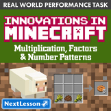 G4 Multiplication & Factors - 'Innovations in Minecraft' P