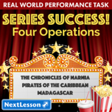 Performance Task – Four Operations – Series Success: Spiderman