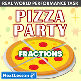 Performance Task - Fractions - Pizza Party: Little Caesar's