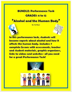 Performance Task - How Alcohol Affects the Human Body