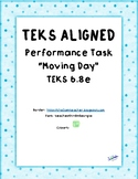 "Performance Task Inclined Plane ""Moving Day"" TEKS 6.8e"