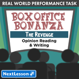 Bundle G5 Opinion Reading & Writing-'Box Office Bonanza: The Revenge' Task