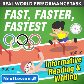 G5 Informative Reading & Writing - 'Fast, Faster, Fastest'
