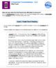 Bundle G6 Argument Reading & Writing-'Conversion Conversations' Performance Task