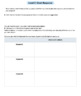 Performance Task – Info Writing – Up, Down, Round & Round