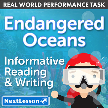 Bundle G3 Informative Reading & Writing - 'Endangered Oceans' Performance Task