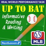 G4 Informative Reading & Writing - 'Up to Bat' Performance Task
