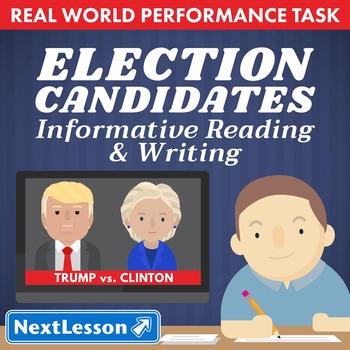Performance Task – Informative Reading & Writing – Electio