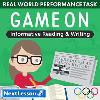 Performance Task – Informative Reading & Writing – Game On - ELA