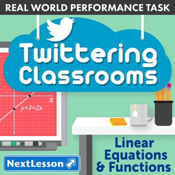 Performance Task - Linear Equations & Functions - Twittering Classrooms