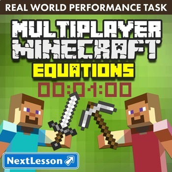 G8 Equations - 'Multiplayer Minecraft' Performance Task
