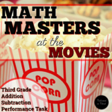 SBAC Math Task - Math Masters at the Movies