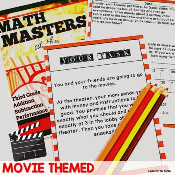 SBAC Math Task - Math Masters at the Movies
