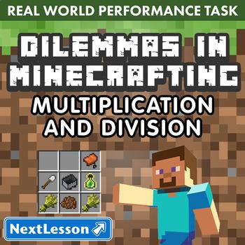 Performance Task - Multiplication & Division - Minecraftin
