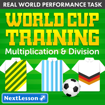 Performance Task – Multiplication & Division – World Cup Training: Germany