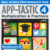 Performance Task – Multiplication & Fractions – App-Tastic IV: Arcade Games