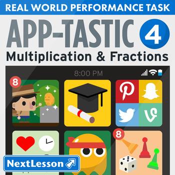 Performance Task – Multiplication & Fractions – App-Tastic