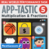 Performance Task – Multiplication & Fractions – Apptastic V: Shopping
