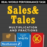 G5 Multiplication & Fractions - Sales & Tales Performance Task
