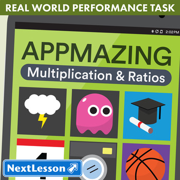 Performance Task – Multiplication & Ratio – App-Mazing: Action Games