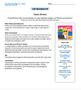 Bundle G4 Multiplication & Division - 'The Tourist's Dilemma' Performance Task
