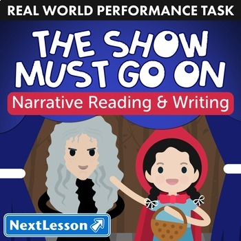 Bundle G5 Narrative-Script Reading & Writing - 'The Show Must Go On' Task