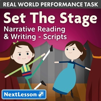 Bundle G3 Narrative-Script Reading & Writing - 'Set the Stage' Performance Task