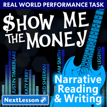 Performance Task – Narrative Writing – Show Me the Money –