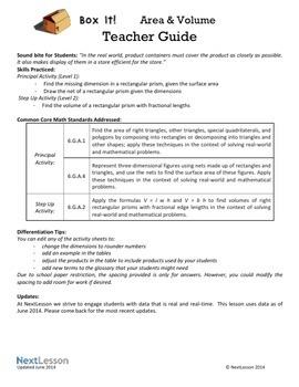 Performance Task – Nets & Volumes – Box It- Toothpaste