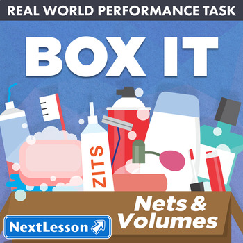 Performance Task – Nets & Volumes – Box It- Toothpaste