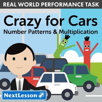 Performance Task - Number Patterns & Multiplication - Crazy for Cars: Porsche