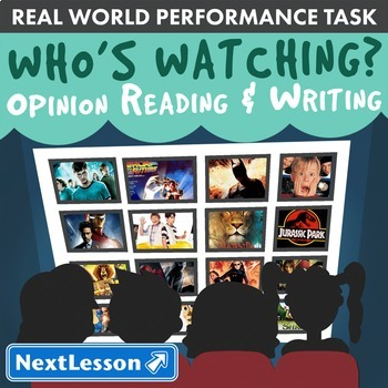 Bundle G3 Opinion Reading & Writing - 'Who's Watching?' Performance Task