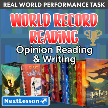 G4 Opinion Reading & Writing - 'World Record Reading' Perf