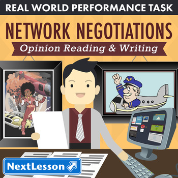 Bundle G5 Opinion Reading & Writing - Network Negotiations Performance Task