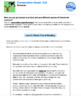 Bundle G5 Opinion Reading & Writing - 'Conservation Quest'
