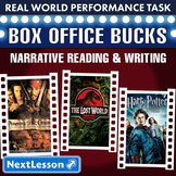 Bundle G6 Narrative Reading & Writing - 'Box Office Bucks' Performance Task
