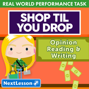Performance Task – Persuasive Writing – Shop Til You Drop