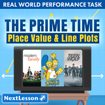 Performance Task – Place Value & Line Plots – The Prime Time: Glee