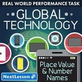 Bundle G4 Place Value & Number Names - Global Technology Performance Task