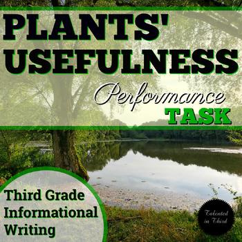 Performance Task - Plants' Usefulness
