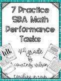 Smarter Balance Math Performance Task Practice 4th grade