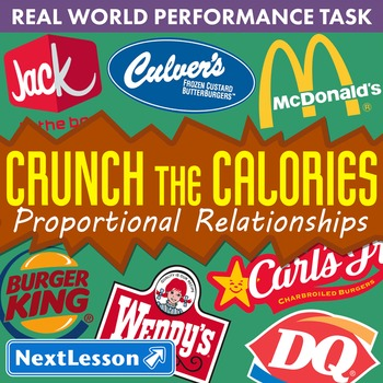Performance Task – Proportional Relationships – Crunch the