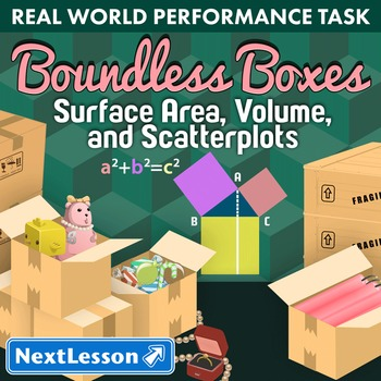 Performance Task – Pythagorean Theorem & Surface Area – Boundless Boxes - Toys