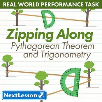 Performance Task – Pythagorean Theorem & Trigonometry – Zipping Along - Peru