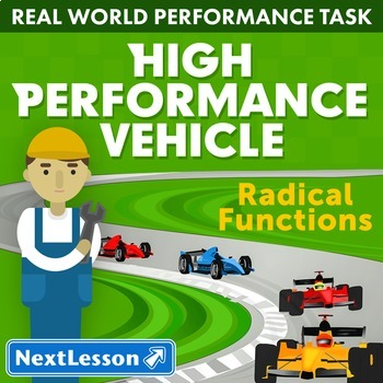 Bundle G10-12 Radical Functions - 'High Performance Vehicle' Performance Task