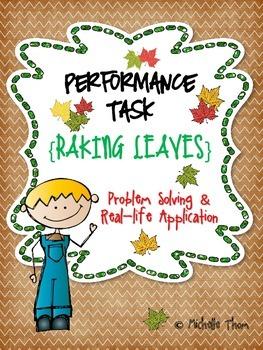 Performance Task {Raking Leaves}