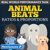 Performance Task – Ratio & Proportion – Animal Beats: Guinea Pig