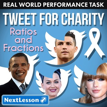 Performance Task – Ratios & Fractions – Tweet for Charity